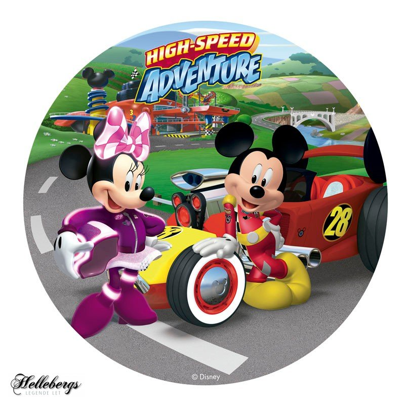 minnie og mickey mouse kageprint - Mickey Mouse kageprint