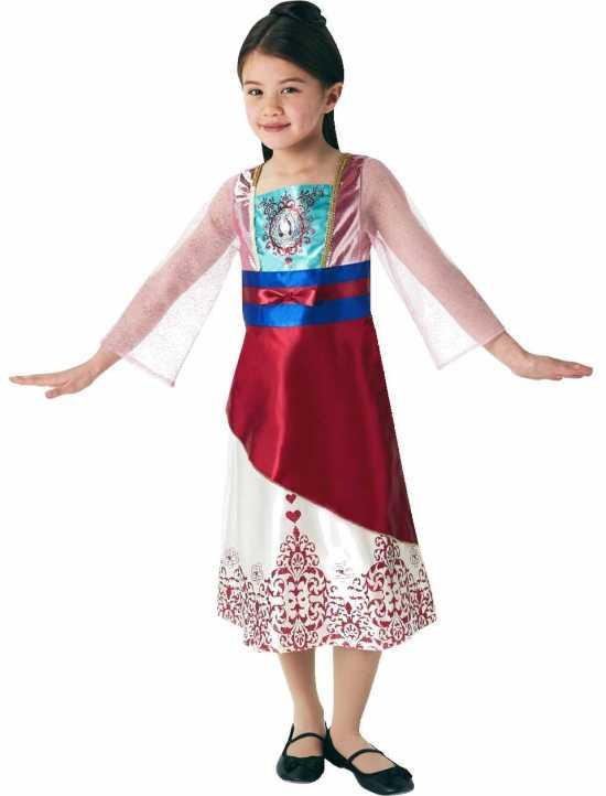 prinsesse mulan kostume til børn - Mulan kostume til børn