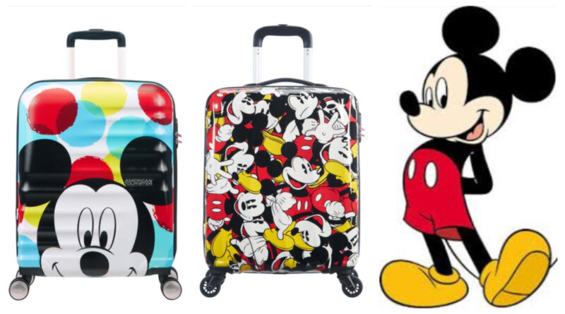 mickey mouse kuffert, mickey mouse trolley, kuffert med mickey mouse print, mickey mouse kabine kuffert, mickey mouse rejseartikler, mickey mouse gaver, disney trolley, disney kuffert, disney kabinekuffert