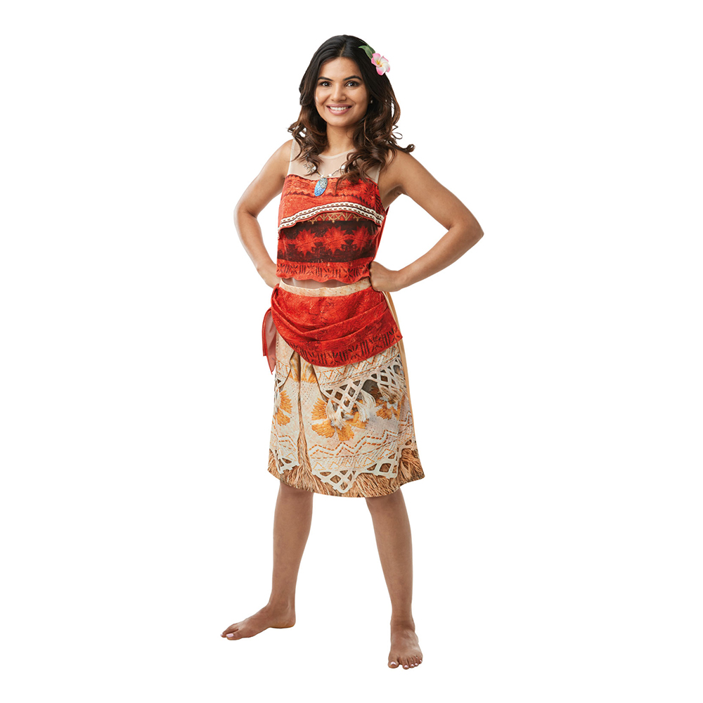 vaiana kostume - Vaiana kostume til voksne