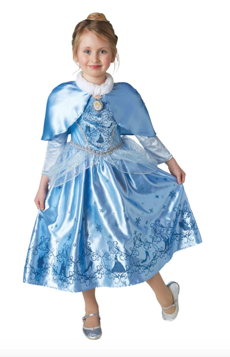 askepot vinterkostume - Askepot kostume til børn
