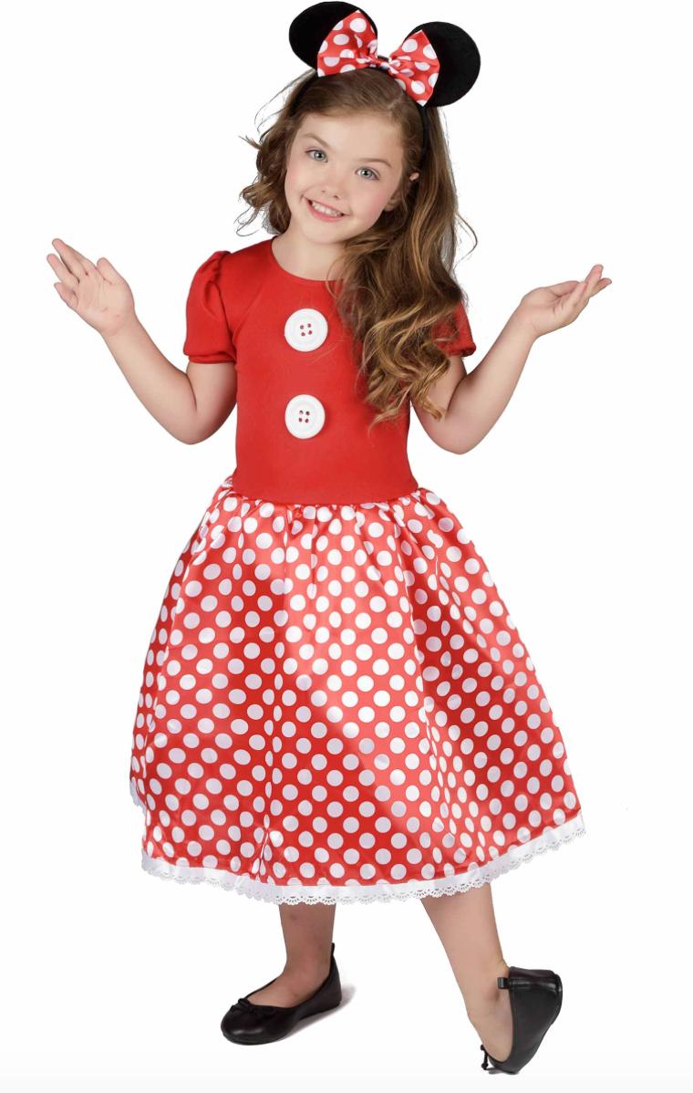 minnie mouse børnekostume - Minnie Mouse kostume til børn