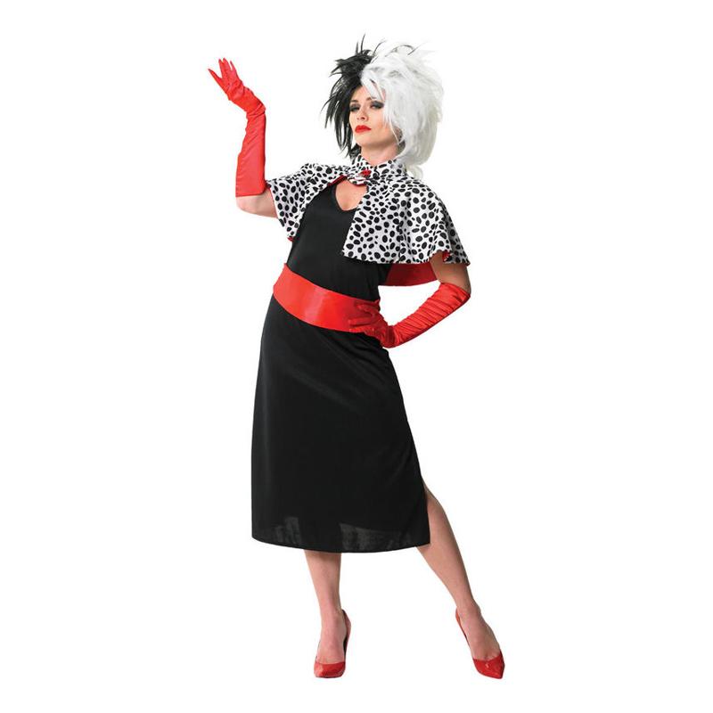 Disney cruella de vil kostume - Cruella De vil kostume til voksne