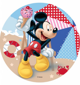 Mickey mouse spiseligt billede 281x300 - Mickey Mouse kageprint