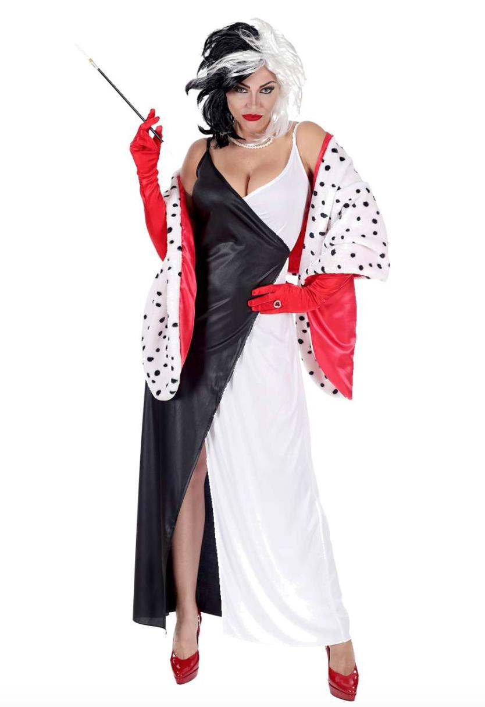 Skærmbillede 2019 10 13 kl. 11.39.26 - Cruella De vil kostume til voksne