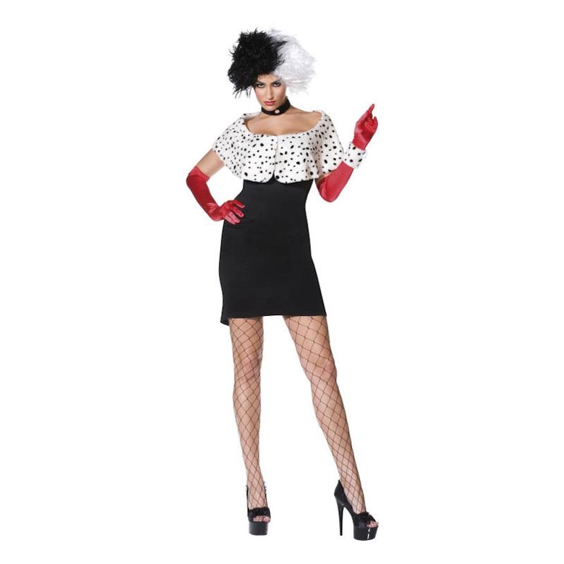 cruella de vil kostume budget - Cruella De vil kostume til voksne