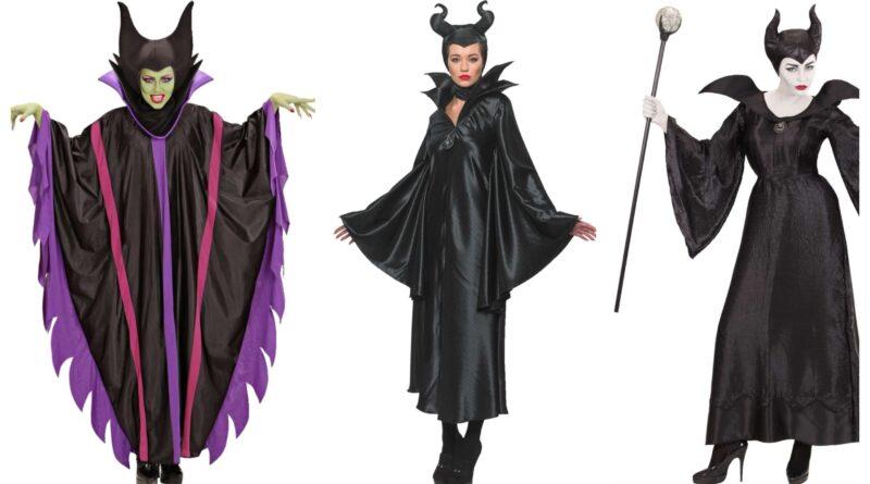maleficent kostume til voksne, maleficent udklædning til voksne, maleficent voksenkostumer, maleficent kostumer, kvindelige skurke kostume, disney skurk kostume, disney skurk udklædning, maleficent 2