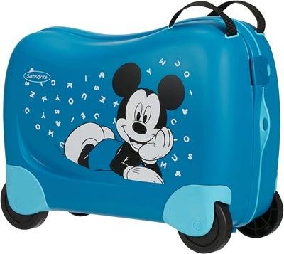 mickey mouse kuffert man sidde på - Mickey Mouse kuffert