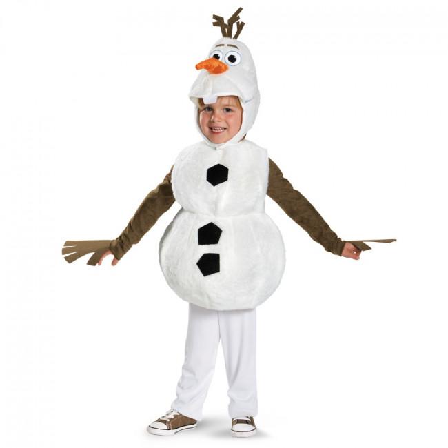 olaf børnekostume - Olaf kostume til børn