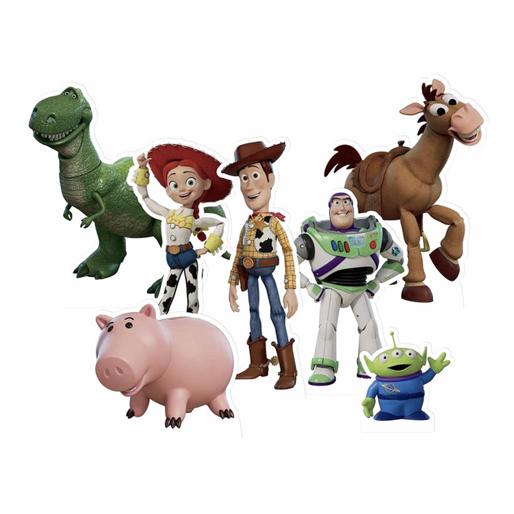 Toy story borddekorationer - Toy Story 4 fødselsdag.