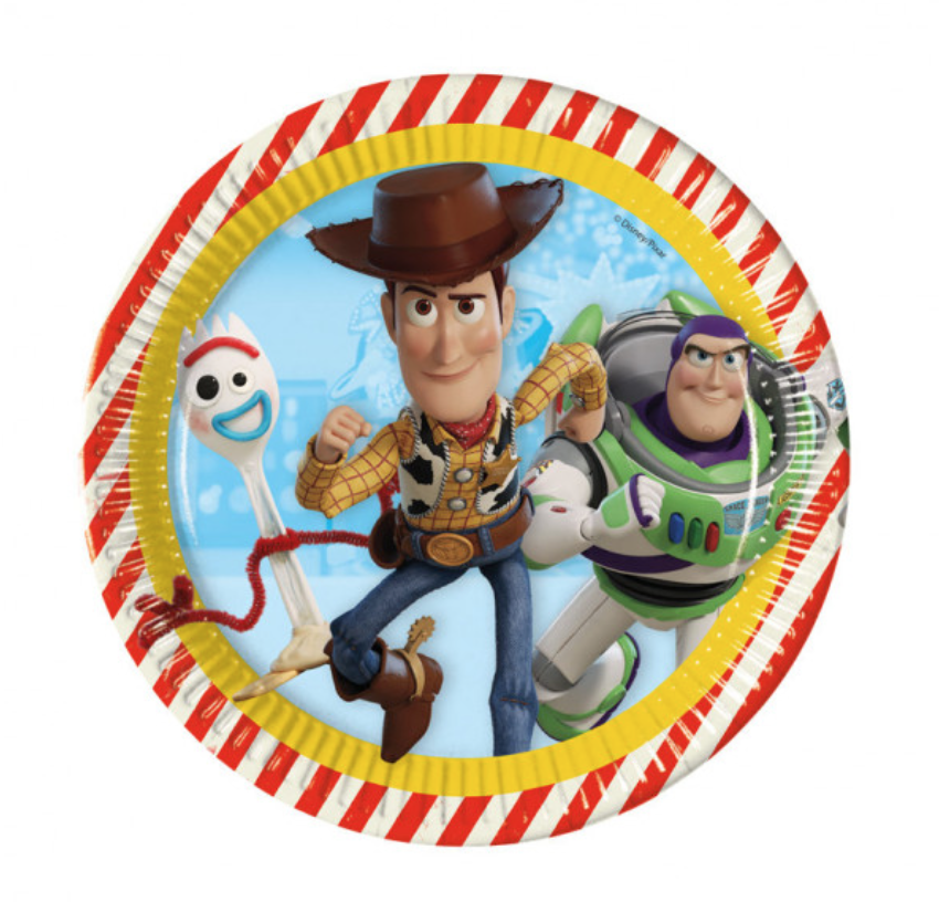 toy story 4 paptallerkner - Toy Story 4 fødselsdag.