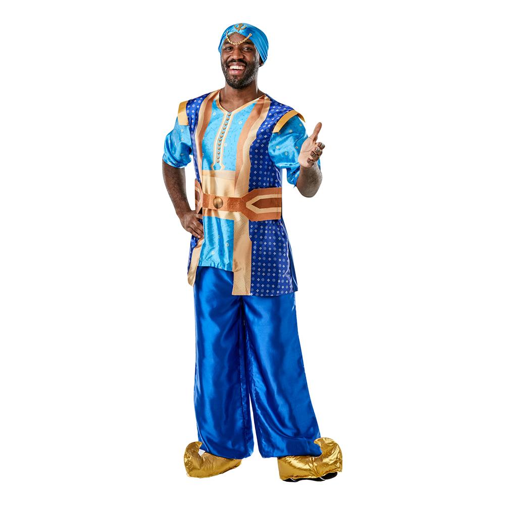nden i flasken kostume - Aladdin kostume til voksne