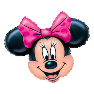 Folieballon minnie mouse 300x300 - Minnie Mouse folieballon - til Minnie Mouse fødselsdagsfesten