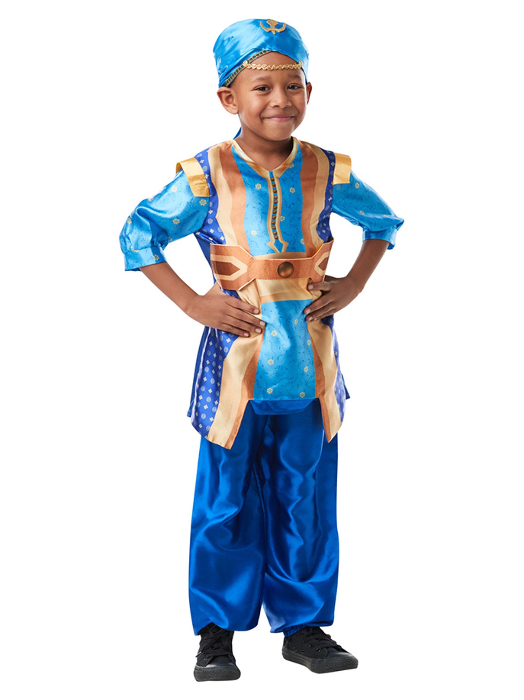 Genie kostume til børn - Aladdin kostume til børn