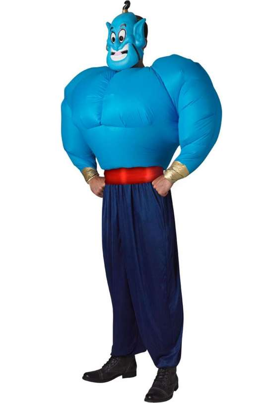 Genie kostume til voksne - Aladdin kostume til voksne