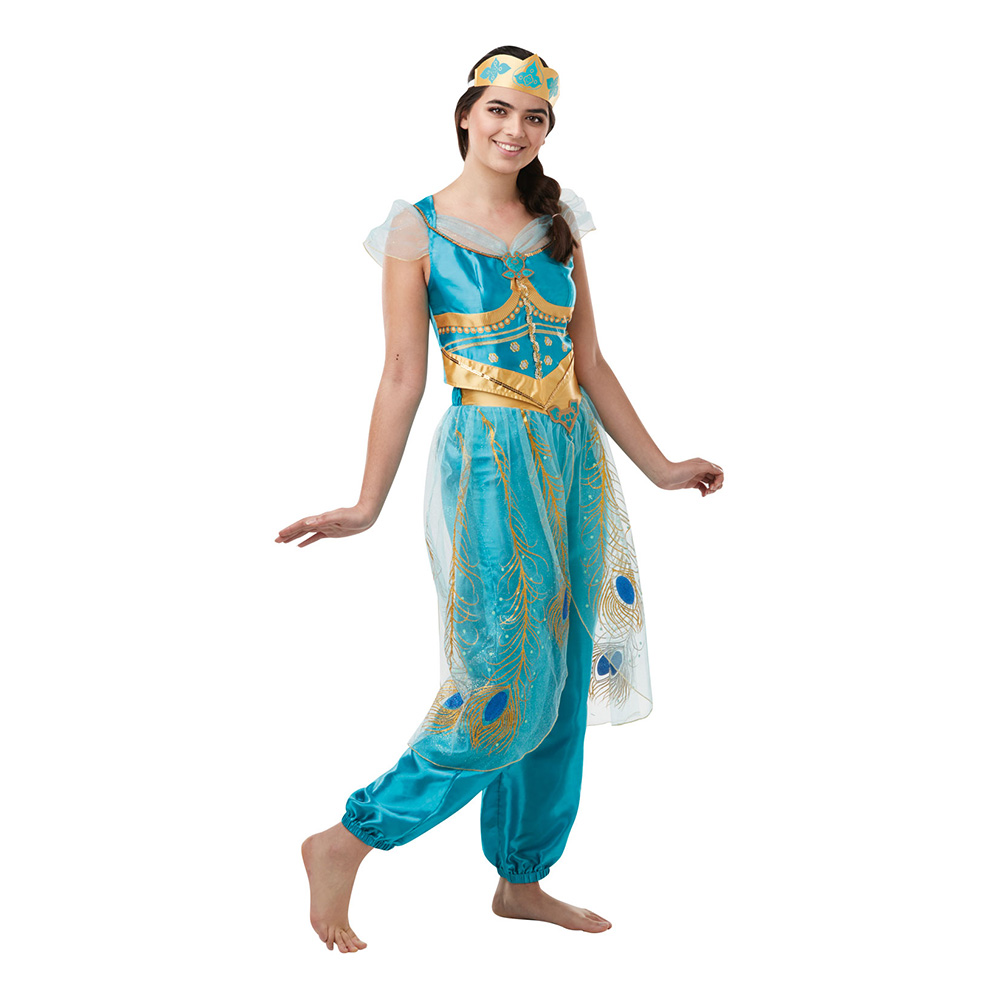 Jasmin kostume til voksne - Aladdin kostume til voksne