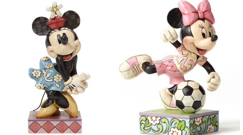 Jim Shore - Minnie Mouse figurer, jim shore minnie mouse figur, jim shore disney figurer, jim shore figurer, jim shore disney figur tilbud, jim shore minnie mouse figur tilbud, minnie mouse gaver, gave til minnie mouse fan, minnie mouse samlerobjekt
