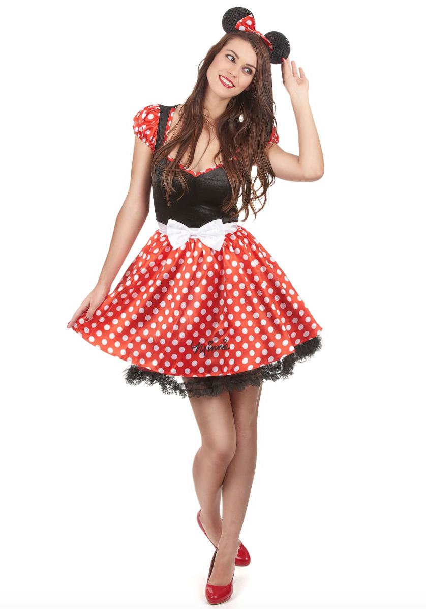 Minnie Mouse kostume til voksne - Minnie Mouse kostume til voksne