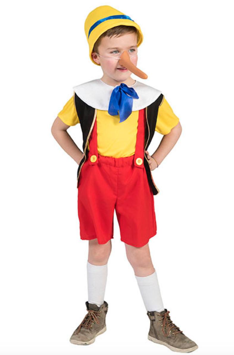 Pinocchio kostume - Pinocchio kostume til børn