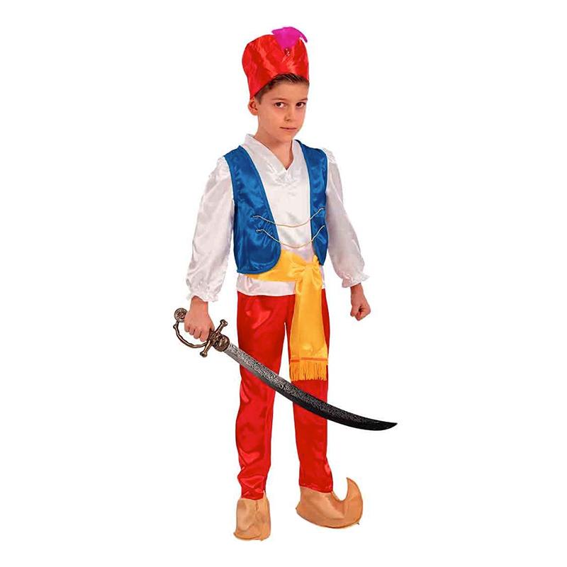 Prins aladdin børnekostume - Aladdin kostume til børn