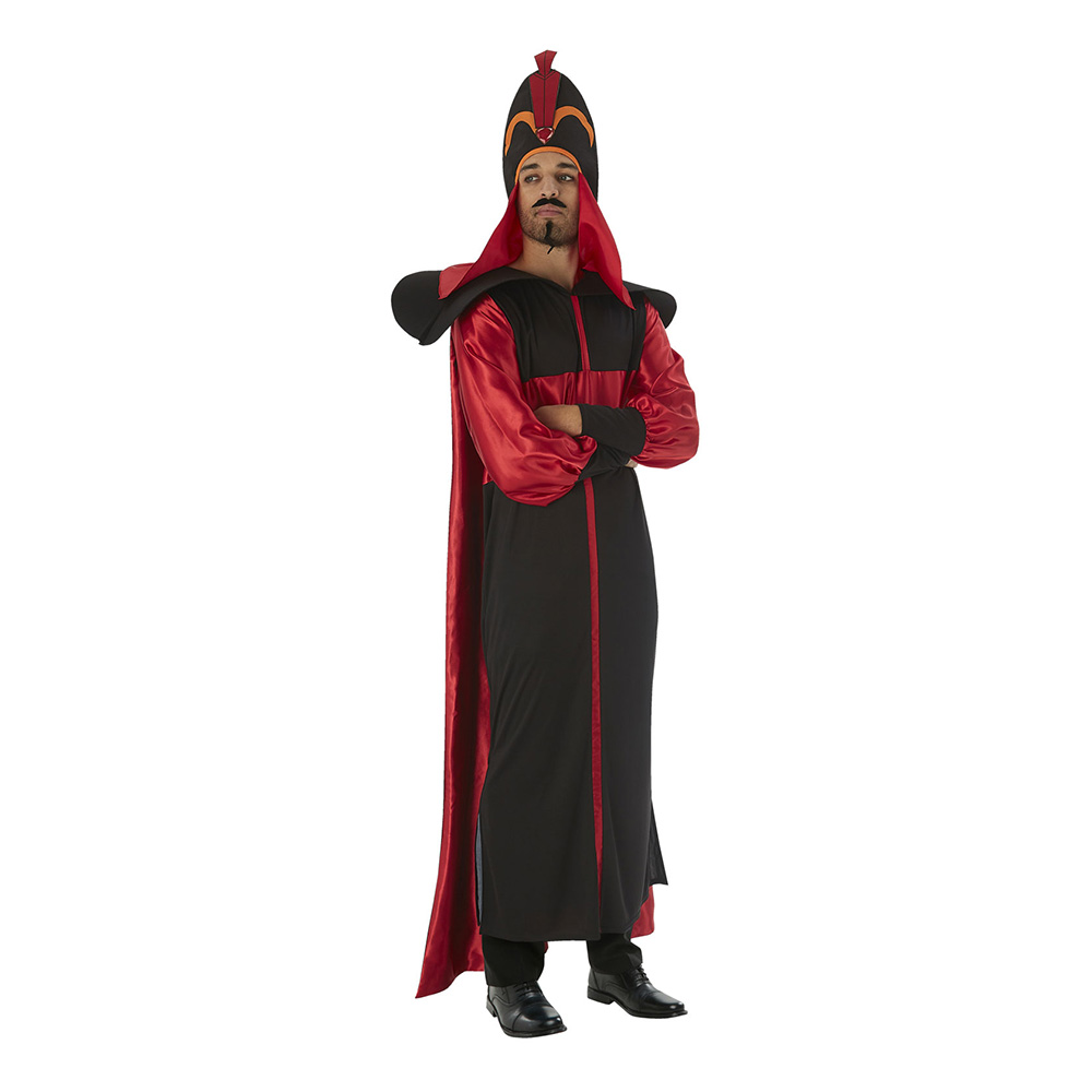 aladdin jafar kostume - Aladdin kostume til voksne