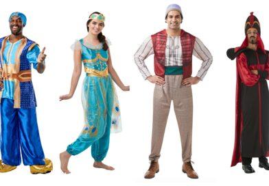 Aladdin kostume til voksne