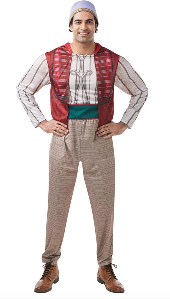 aladdin kostume - Aladdin kostume til voksne