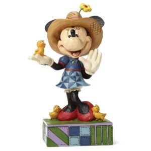 jim shore farmer minnie mouse figur 300x300 - Jim Shore - Minnie Mouse figurer