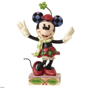jim shore merry minnie 300x300 - Jim Shore - Minnie Mouse figurer