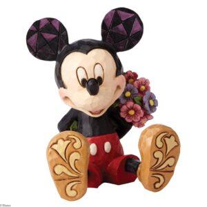 jim shore mini mickey w flower 300x300 - Jim Shore - Mickey Mouse figurer