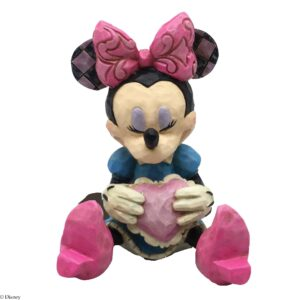 jim shore mini minnie mouse med hjerte 300x300 - Jim Shore - Minnie Mouse figurer