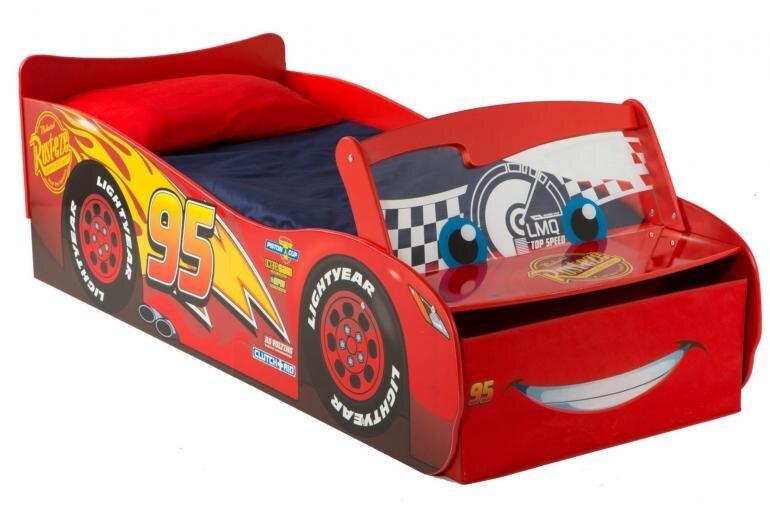 lynet mcqueen seng til børn - Mcqueen juniorseng - Cars seng de mindste