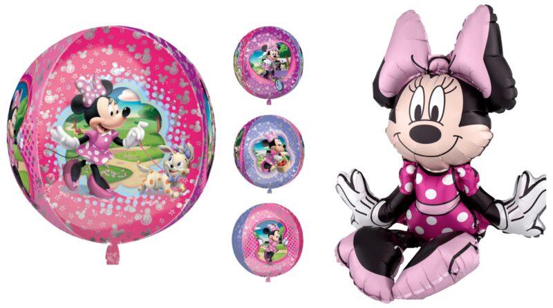 minnie mouse folieballon, minie mouse folieballoner, minnie mouse balloner, minnie mouse fødselsdag, minnie mouse børnefødselsdag, minnie mouse festartikler