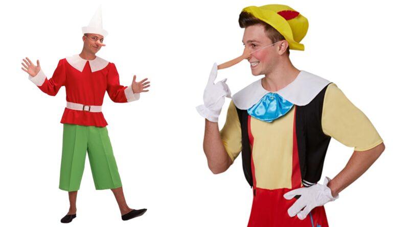 Pinocchio kostume til voksne