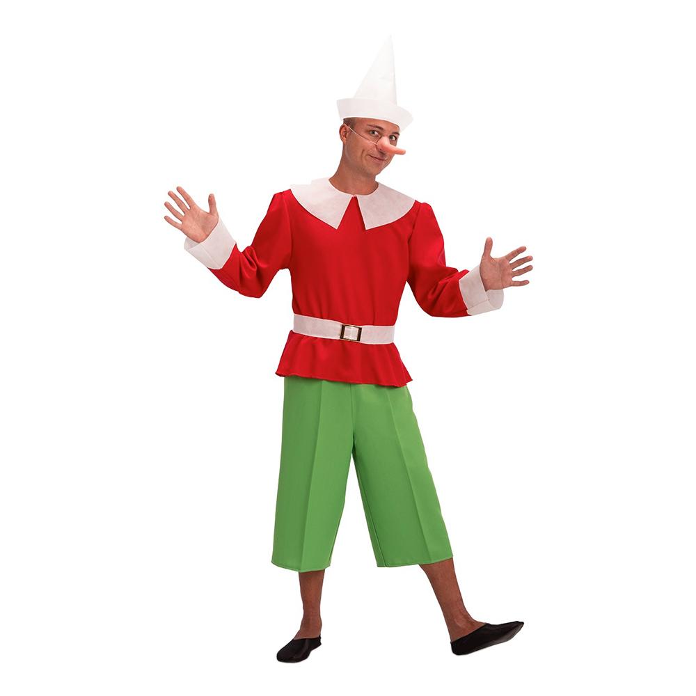 pinocchio kostume - Pinocchio kostume til voksne