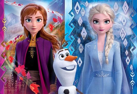 Disney frost 2 puslespil - Frost 2 puslespil - for børn og barnelige sjæle