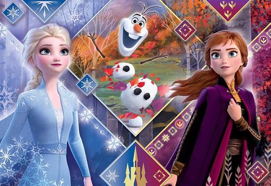 Disney frost puslespil med maxi brikker - Frost 2 puslespil - for børn og barnelige sjæle