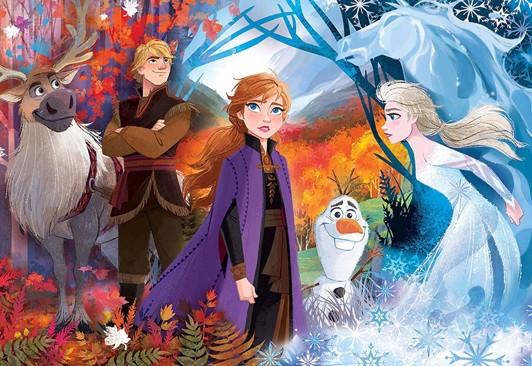 Disney frozen 2 puslespil - Frost 2 puslespil - for børn og barnelige sjæle