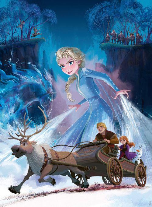 Frost puslespil 200 brikker - Frost 2 puslespil - for børn og barnelige sjæle