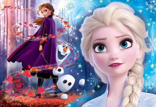 Frost puzzlespil - Frost 2 puslespil - for børn og barnelige sjæle