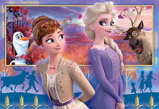 Frozen 2 puslespil - Frost 2 puslespil - for børn og barnelige sjæle