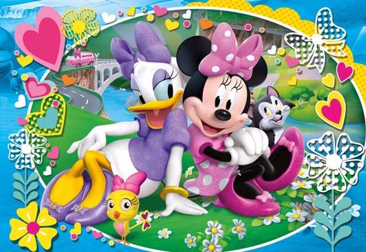Minnie Mouse børnepuslespil - Minnie Mouse puslespil for børn og voksne
