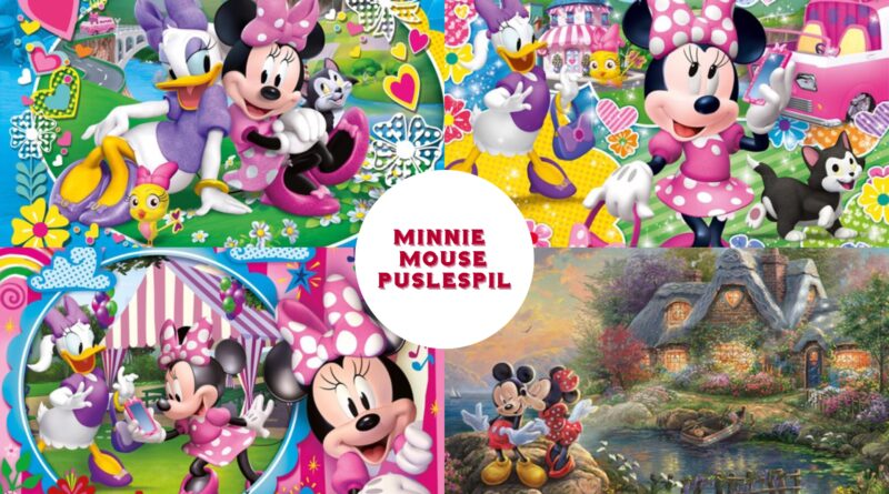 Minnie mouse puslespil, minnie mouse puzzlespil, minnie mouse puslespil til voksne, minnie mouse puslespil til voksne, disney puslespil til voksne, disney puslespil til børn, minne mouse gaver, minnie mouse gaveideer