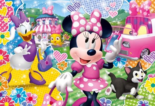 Minnie Mouse puslespil til børn - Minnie Mouse puslespil for børn og voksne