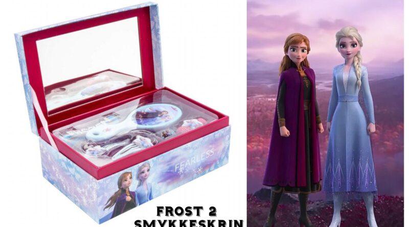 frost 2 smykkeskrin, frost 2 smykkeæske, frozen 2 smykkeskrin, elsa smykkeskrin, anna smykkeskrin, disney smykkeskrin til børn, frost 2 gaver