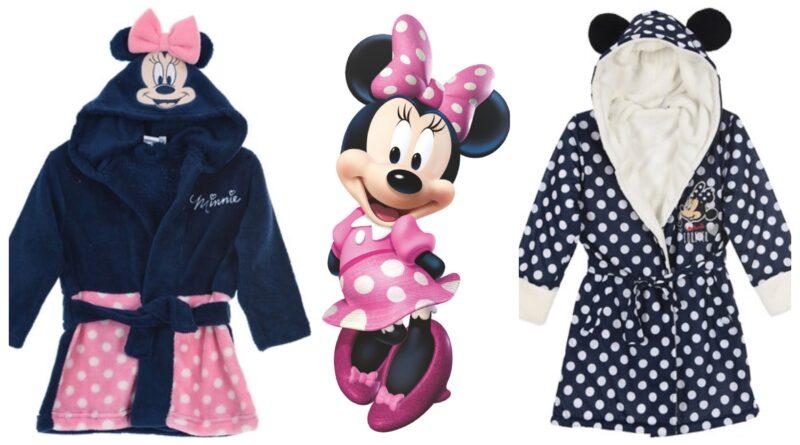 minnie mouse badekåbe til børn, minnie mouse morgenkåbe til børn, minnie mouse gaver til børn, disney morgenkåbe til børn, disney badekåbe til børn