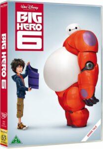 Big Hero 6 disney dvd disney klassiker 208x300 - Disney klassikere liste