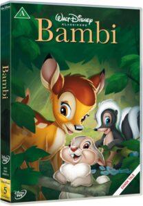 Disney klassiker bambi 208x300 - Disney klassikere liste