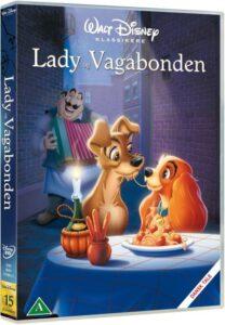 Lady og vagabonden dvd disney klassiker 15 208x300 - Disney klassikere liste