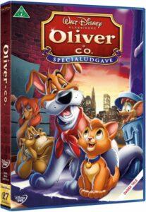 Oliver Co. dvd disney klassiker 27 207x300 - Disney klassikere liste